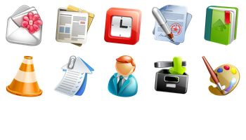 Blogging Icons by WebIconSet.com