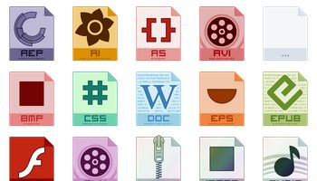 Mnemo Filetype Icons by hechiceroo
