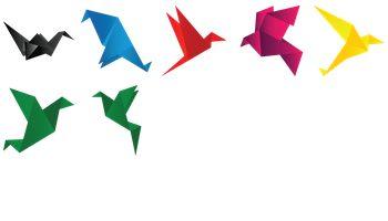 Origami Birds Icons
