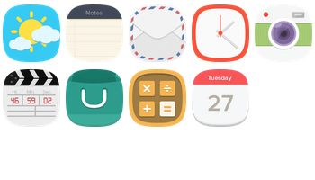 Flat Icons by Seevi