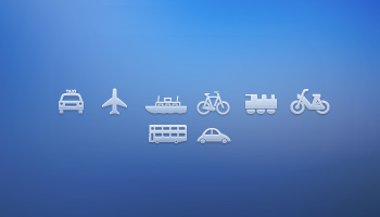 Transport Icons by Daisy Binks