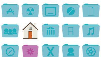 Stock Folder Icons by Hamza Saleem