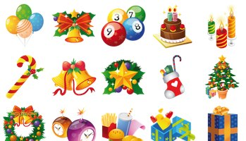Christmas Icons by mohsen fakharian