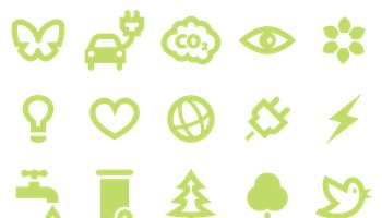 SimpleGreen Icons by Simplefly