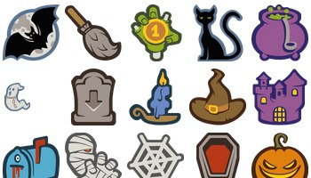 Halloween Icons by IconCreme
