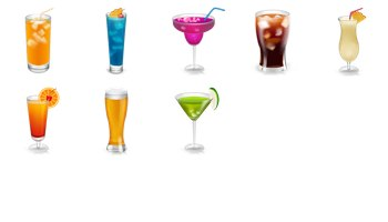 Drinks Icons by miniartx