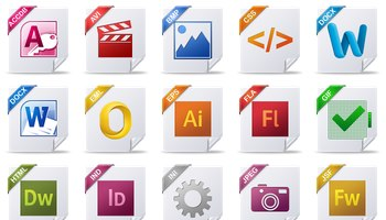 File Type Icons by Treetog ArtWork