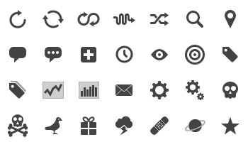 Glyphish Icons by Glyphish