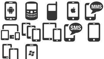 Cell Phones by icons8