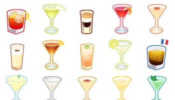 Cocktails Icons by Joumana Medlej