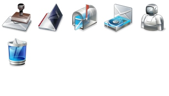 Real Vista Mail Icons by Iconshock