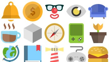Free Flat Icons 2 by Studio4