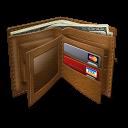 иконка wallet, кошелек, бумажник, деньги,